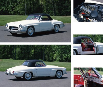1959 MERCEDES-BENZ 190SL ROADS