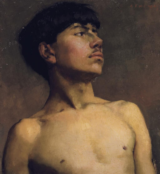 Portrait of Xavier Martinez