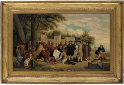 American School, Circa 1830