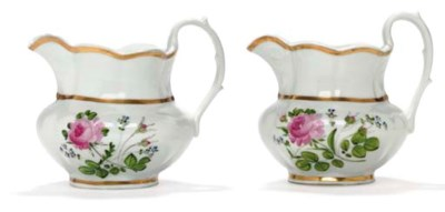 A GROUP OF TWO GILT AND ENAMEL