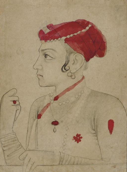 A DRAWING OF SULEYMAN SHIKOH,