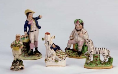 A GROUP OF ENGLISH EARTHENWARE
