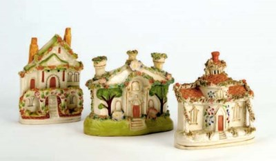 TWELVE STAFFORDSHIRE MODELS OF
