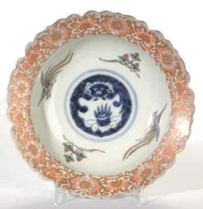 THREE JAPANESE PORCELAIN BOWLS