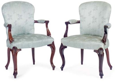 A SET OF FIVE ROCOCO REVIVAL B