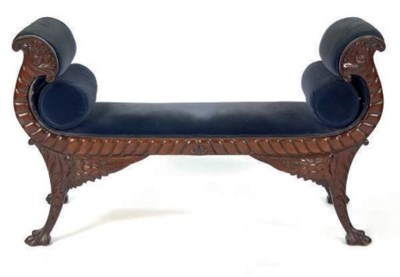 AN AMERICAN CLASSICAL CARVED M