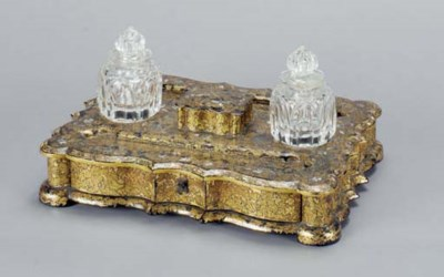 A PARCEL-GILT AND MOTHER OF PE