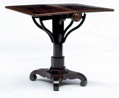 **A WILLIAM IV ROSEWOOD SUTHER
