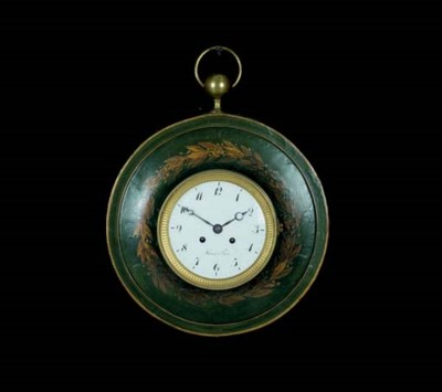 A LOUIS XVI GREEN-PAINTED AND
