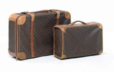 TWO LOUIS VUITTON SOFT-BACKED