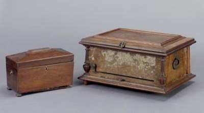 A WALNUT CASED SWISS MUSIC BOX
