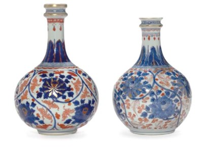 A PAIR OF CHINESE IMARI APOTHE