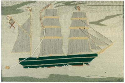 A 19th century sailor's wool w