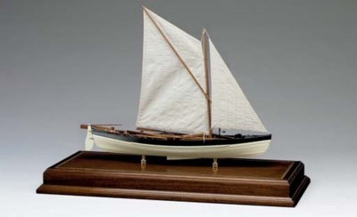 A model of a Beetle whale boat