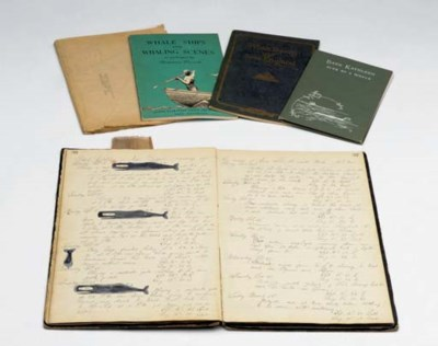 A Log book for the whaling bar