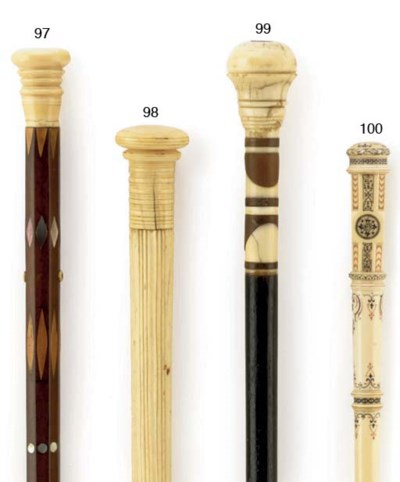 An early 20th century ivory an
