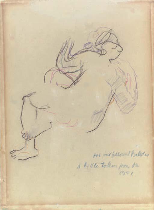 Oskar Kokoschka Austrian 1886 1980 Femme Christies
