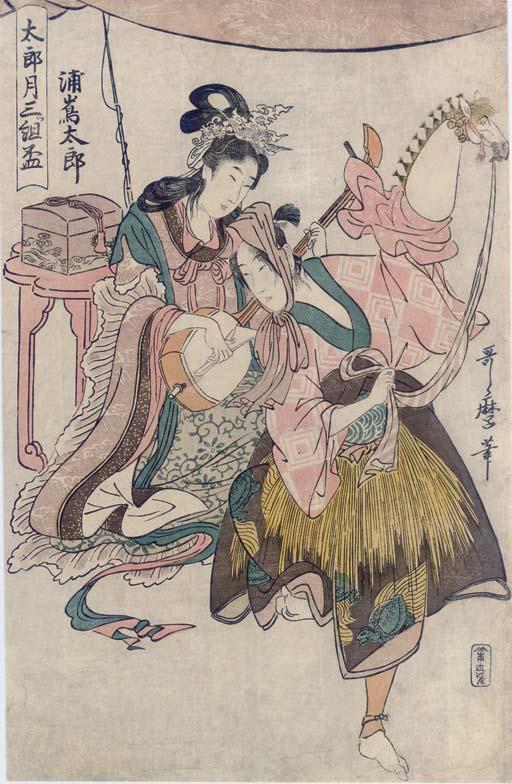 Kitagawa Utamaro (1754-1806) Katsukawa Shuncho (act. ca. 1780-95)