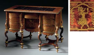 A LOUIS XIV BOULLE MARQUETRY B