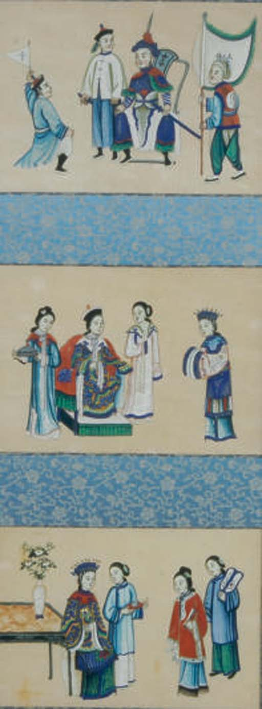 A GROUP OF CHINESE PAINTINGS,