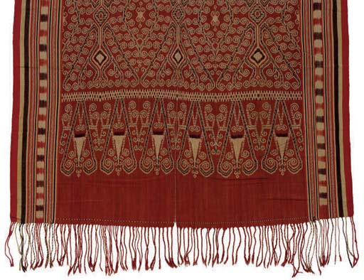 A CEREMONIAL BLANKET (PUA),