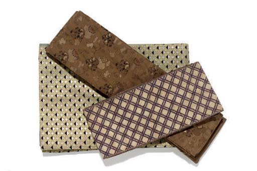 THREE WAIST CLOTHS (OBIS),