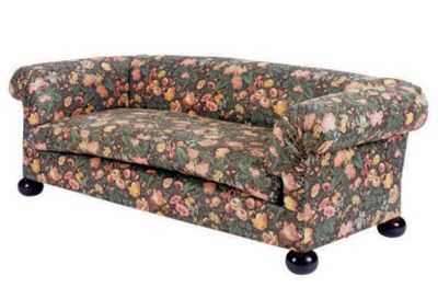 TWO CHINTZ UPHOLSTERED CLUB SO