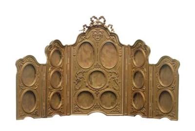 A Louis XV style ormolu five-p