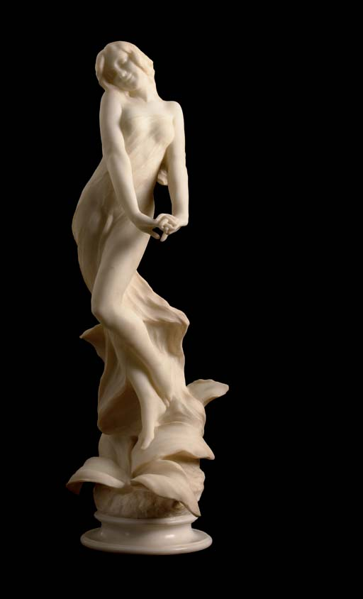 An Italian marble figure of a