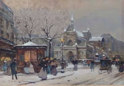 Eugène Galien-Laloue (French,