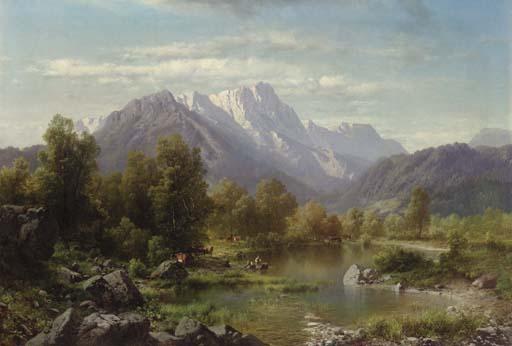 Karl Millner (German, 1825-189