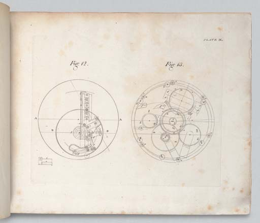 HARRISON, John [and Nevil MASKELYNE (1732-1811)]. The Principles of Mr. Harrison's Time-Keeper, with Plates of the Same. Published by Order of the Commissioners of Longitude. London: W. Richardson and S. Clarke for John Nourse and Mess. Mount and Page, 1767.