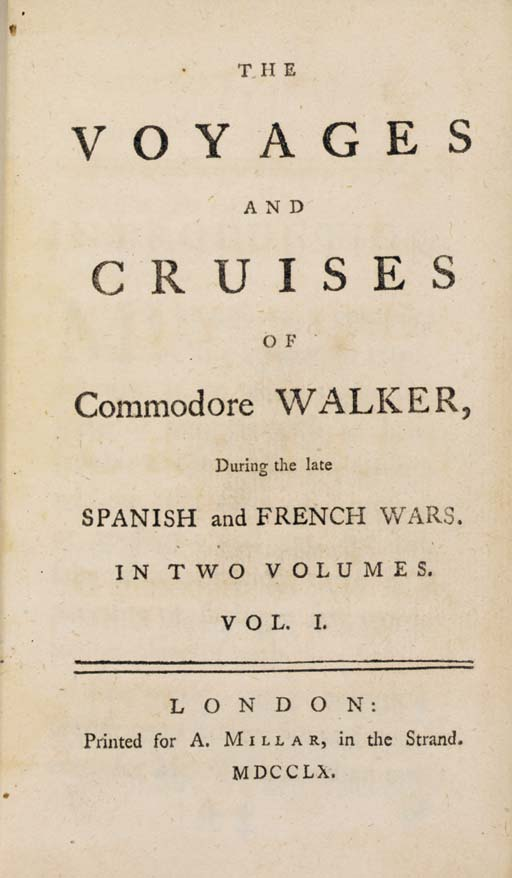 WALKER, George (d. 1777). The