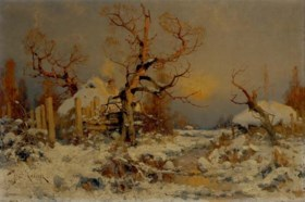 Attributed to Yulii Yulevich (Julius) Klever (1850-1924)