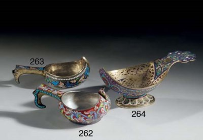 A Silver and Cloisonné Enamel