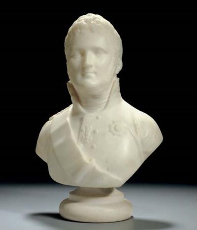 A Marble Bust of Emperor Alexa