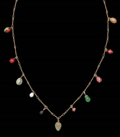 A Necklace of Eleven Jeweled,