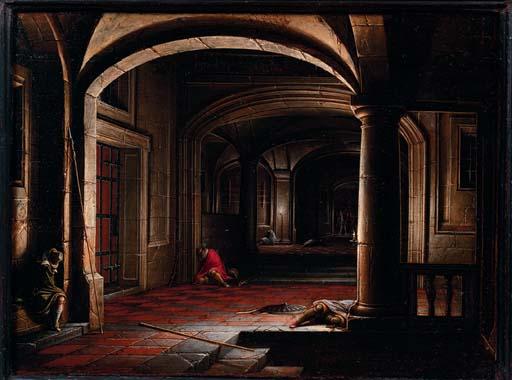 Hendrick van Steenwijk II  Frankfurt am Main c. 1580-c. 1649 London
