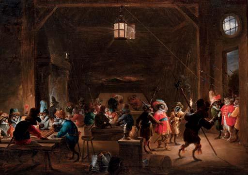 David Teniers II Antwerp 1610-1690 Brussels