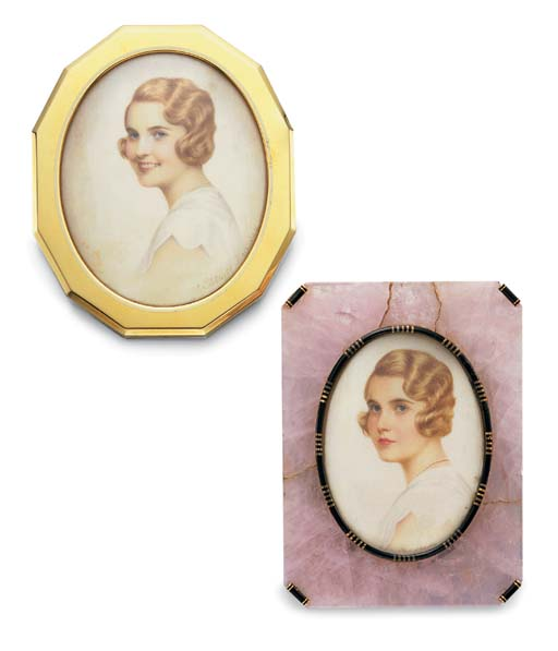 **A SET OF PICTURE FRAMES, BY