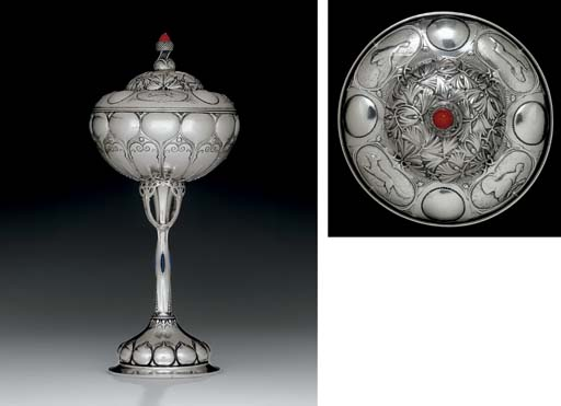 A MONUMENTAL GERMAN SILVER AND