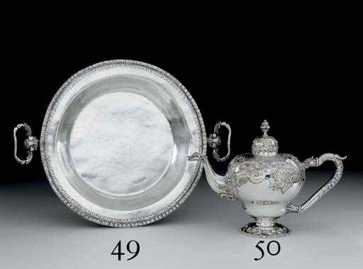 A SPANISH COLONIAL SILVER BASI