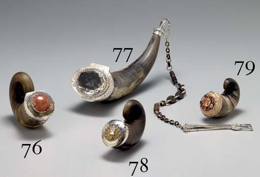 FOUR VICTORIAN SILVER, GOLD AN