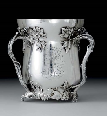 AN AMERICAN SILVER LOVING CUP