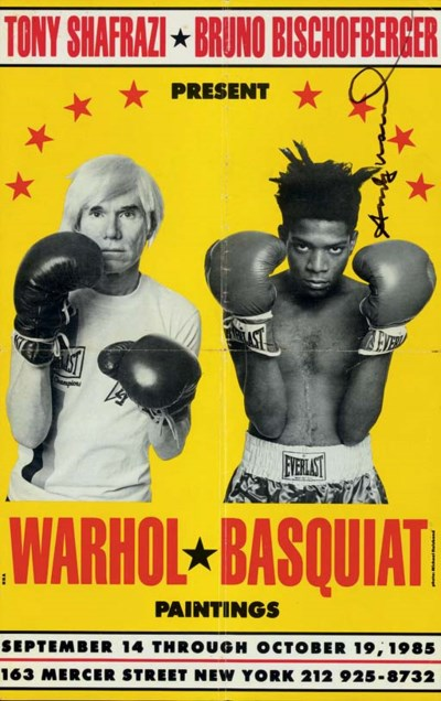 ANDY WARHOL AND JEAN MICHEL BA