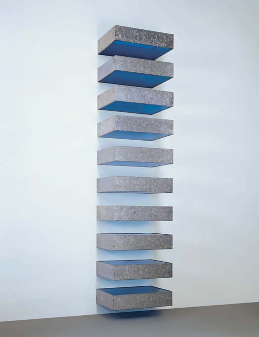 Donald judd 1928 1994 untitled 1977 77 41 bernstein for Donald judd stack 1972