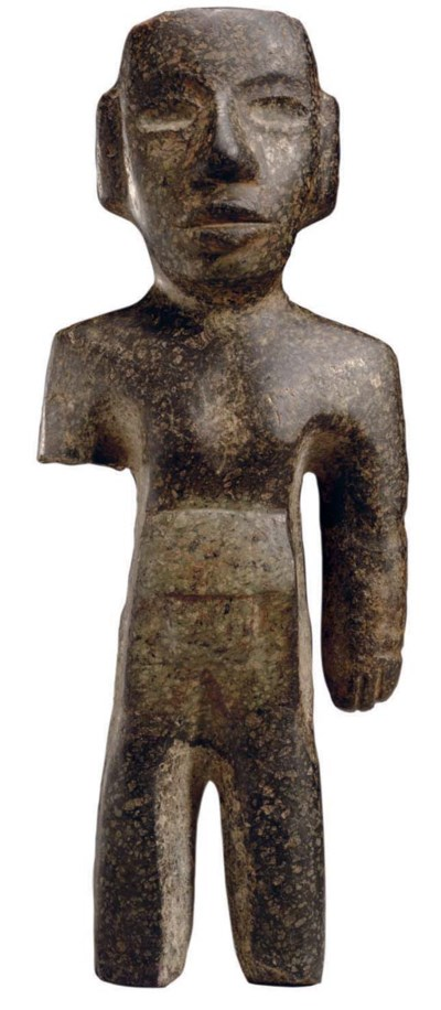 TEOTIHUACAN STONE STANDING FIG