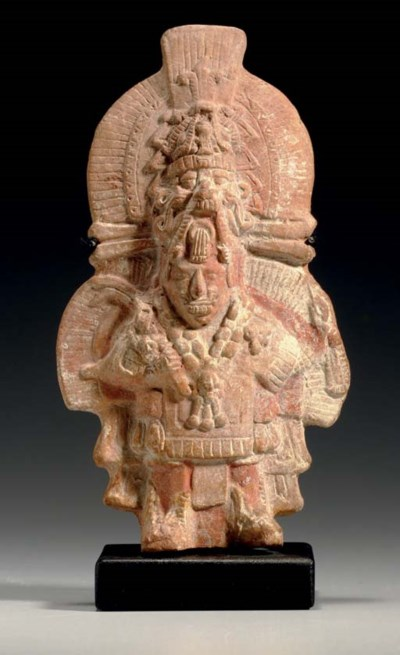 MAYAN MOLD-MADE FIGURE OF THE