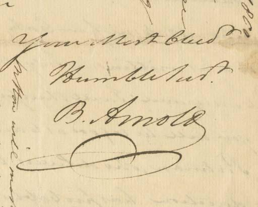 ARNOLD, Benedict (1741-1801).