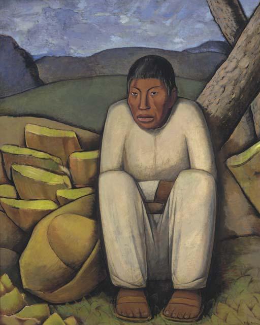 Alfredo Ramos Martinez (Mexican 1872-1946)